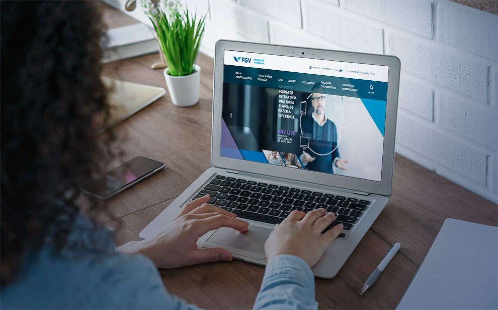 MBA Live: FGV lança novo formato de cursos de especialização com aulas online 100% ao vivo