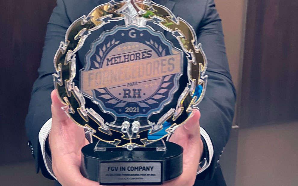 Read more about the article Premiação elege FGV In Company como o melhor provedor de Educação Corporativa